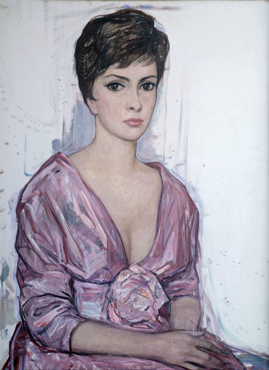Portrait of Gina Lollobridgida