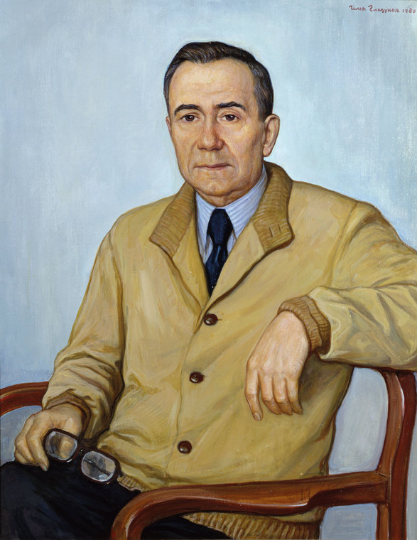 Portrait of the Minister of Foreign Affairs of the USSR A. Gromyko