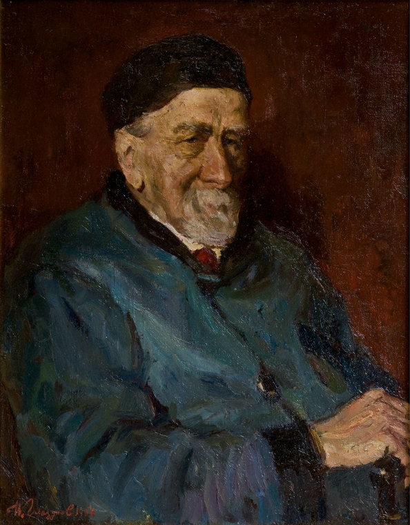 Portrait of Professor V. Ushakov
