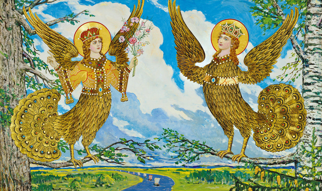 Paradise Birds of Ancient Russia