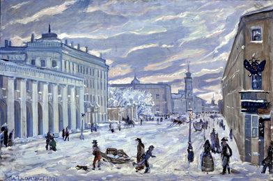 Petersburg. Nevsky Prospect