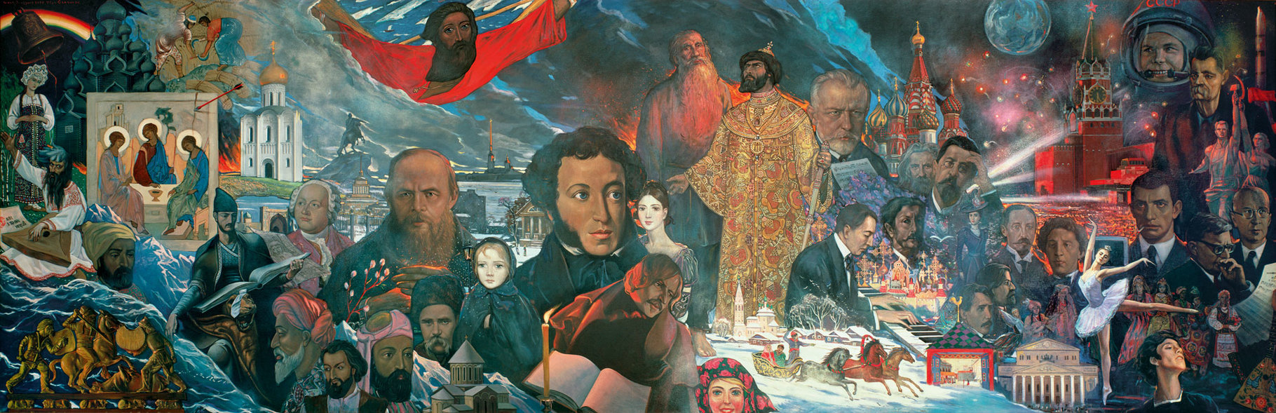 The Contribution of the People of the USSR to World Culture and Civilization