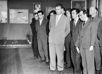 Открытие персональной выставки Ильи Глазунова в Варшаве