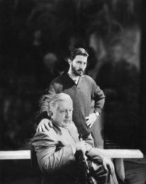 Илья Глазунов с сыном Иваном Глазуновым